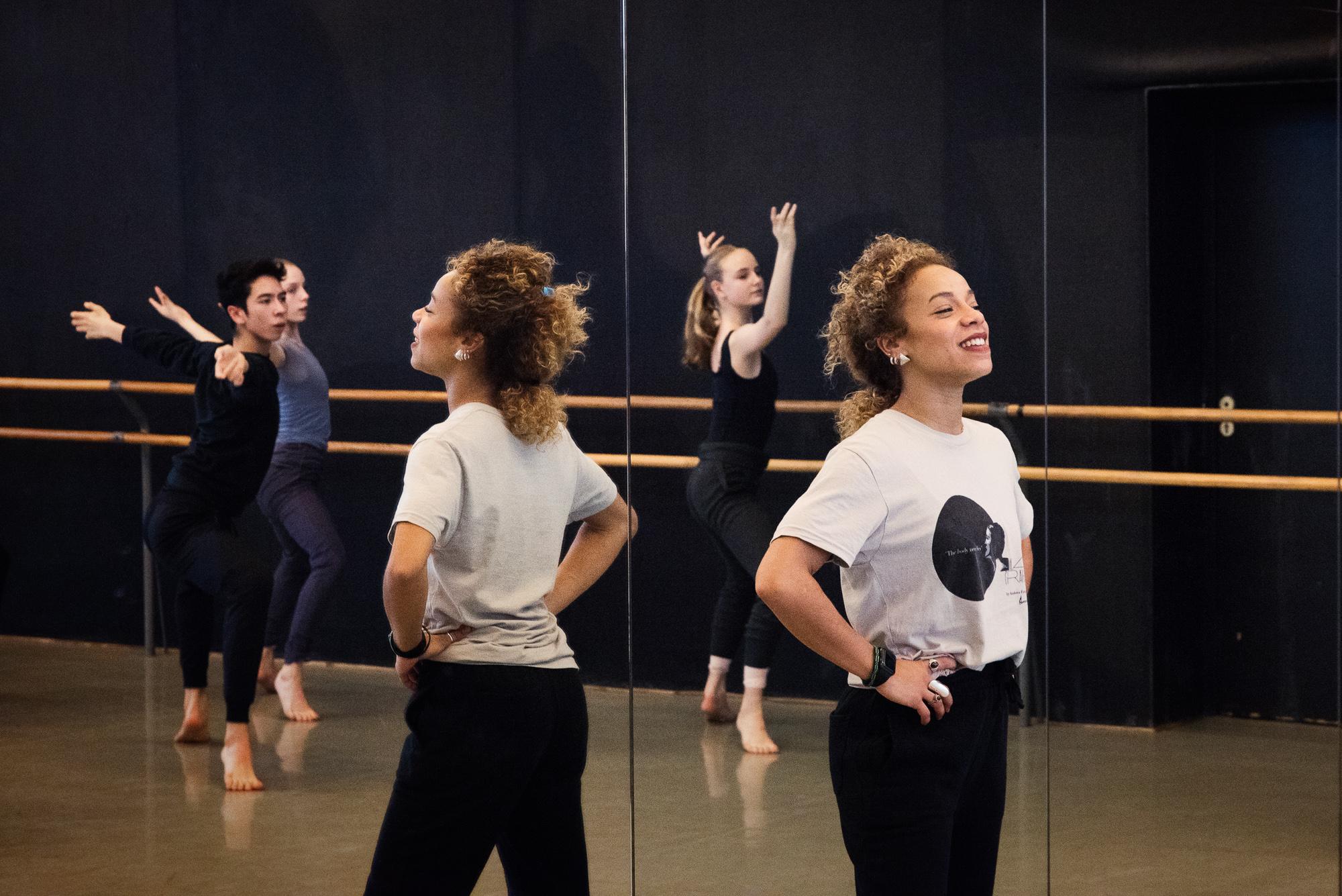 Presse ©Ferrante-Ferranti CNSMDP 2019-20 Cours de danse contemporaine