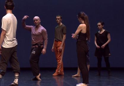 Répétition publique de l'Ensemble Chorégraphique du Conservatoire