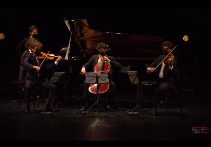 Emmanuel Coppey, Nicolas Garrigues, Johannes Gray, Rodolphe Menguy - Concert des lauréats