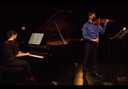 Michael Riedler et Maguelone Parigot - Concert des lauréats