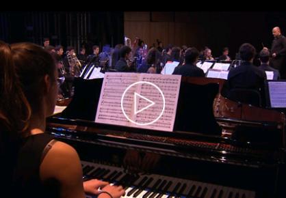 L'Orchestre du Conservatoire sous la direction de Marc Lys