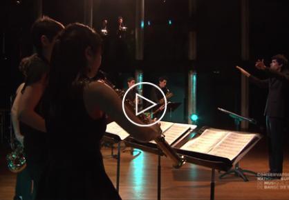 Concert de l'Ensemble de saxophones